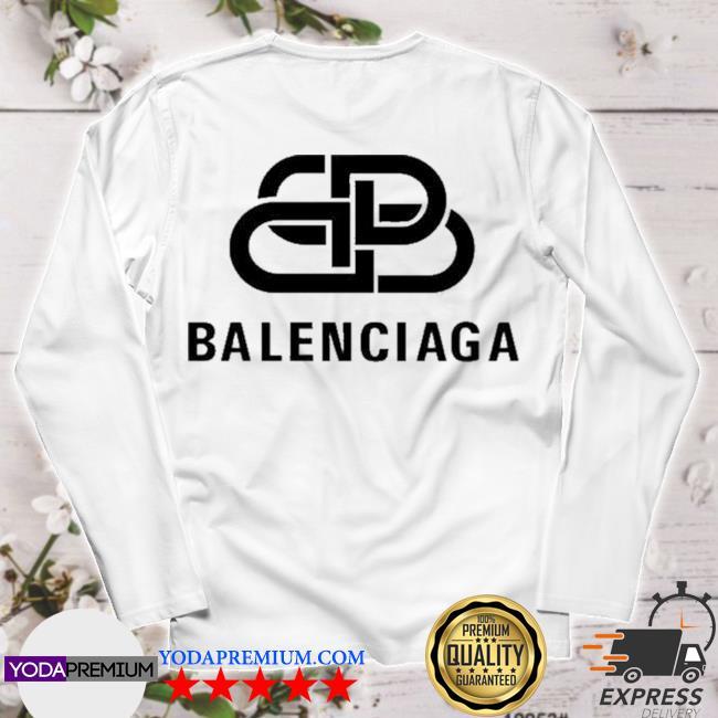 Official bb balenciaga logo s longsleeve