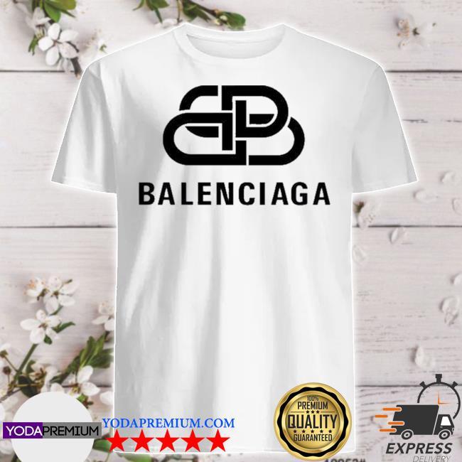Official bb balenciaga logo shirt