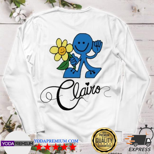Official clairo merch clairo tame tour s longsleeve