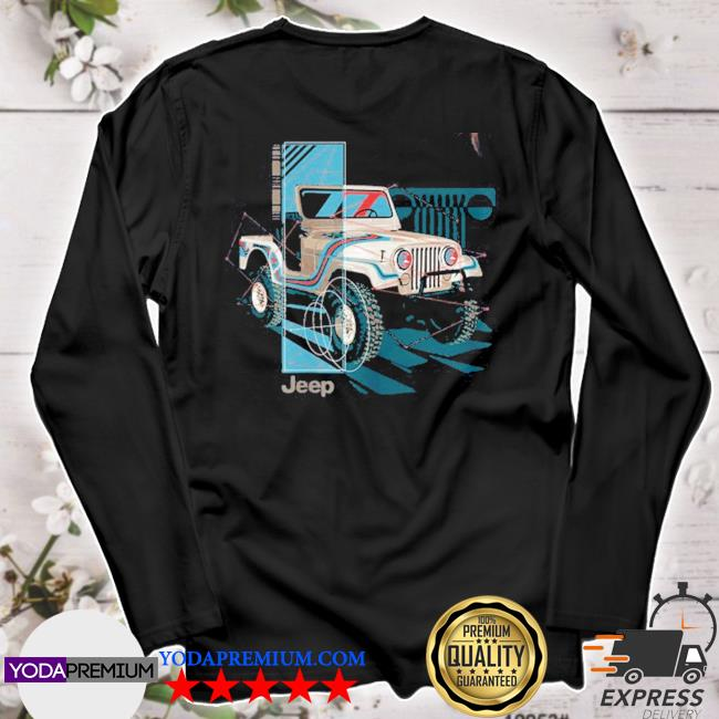 Official jeep wrangler painted angles s longsleeve