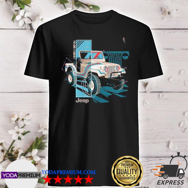 Official jeep wrangler painted angles shirt