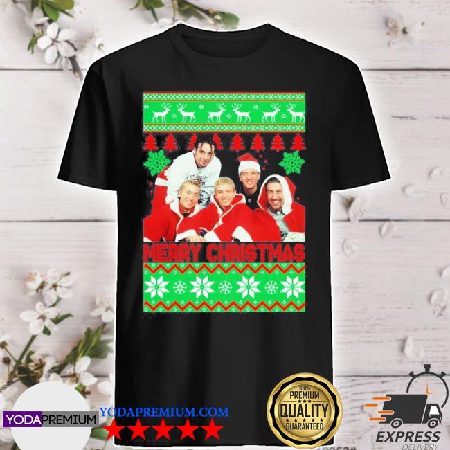 Official nsync merry christmas ugly christmas shirt