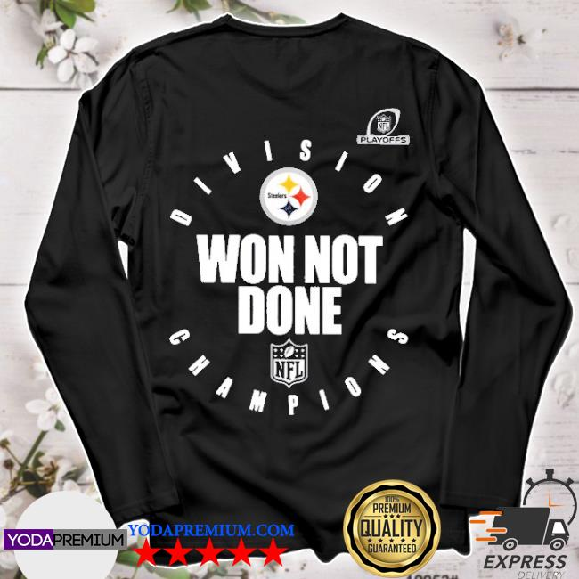 Official pittsburgh steelers champions 2020 won not done s longsleeve