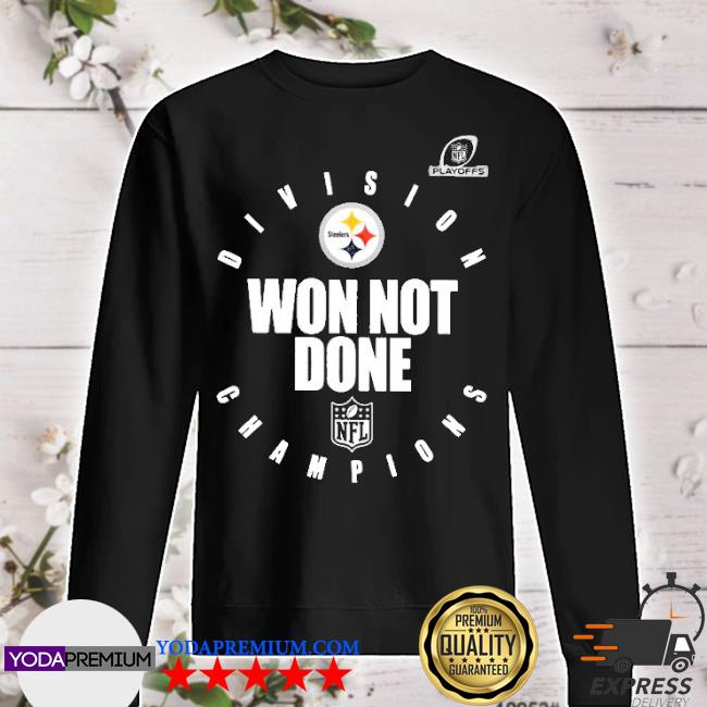 Official pittsburgh steelers champions 2020 won not done s sweater