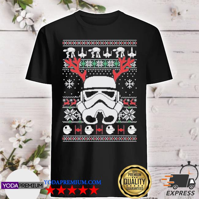 Official stormtrooper ugly christmas shirt