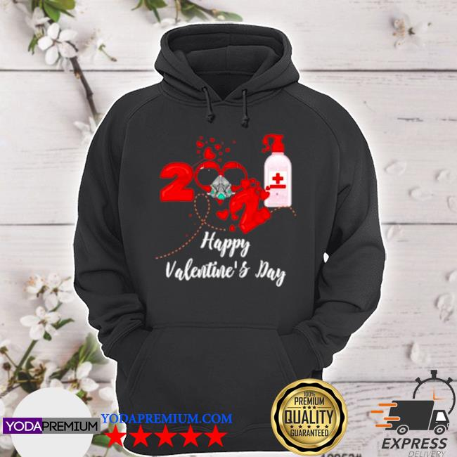 2021 covid19 happy valentines day s hoodie