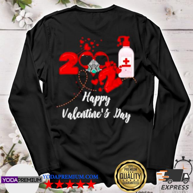 2021 covid19 happy valentines day s longsleeve