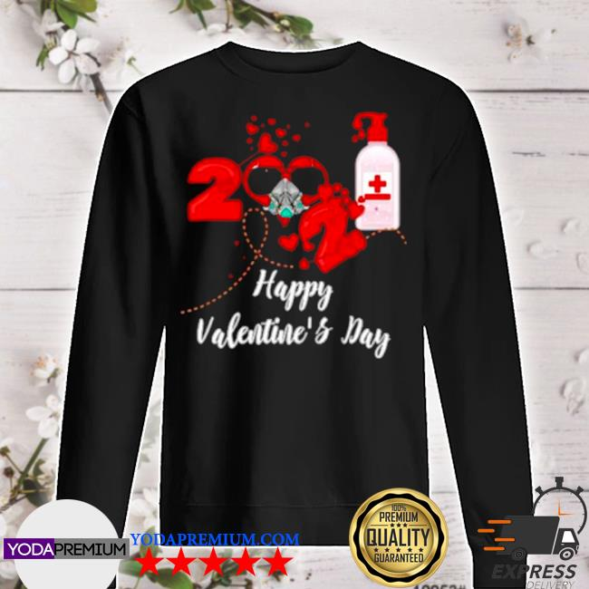 2021 covid19 happy valentines day s sweater