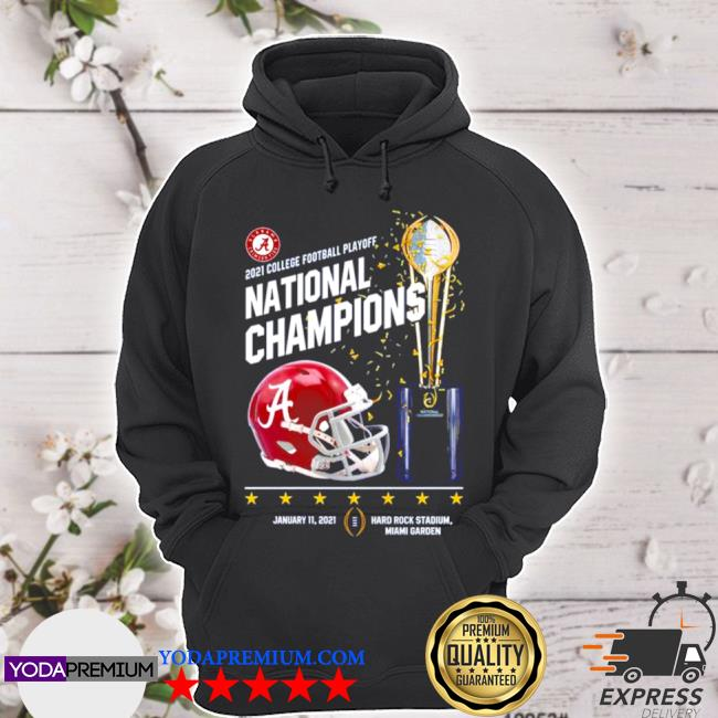 Alabama crimson tide 2021 college football playoff national champions alabama 52 ohio state 24 s hoodie
