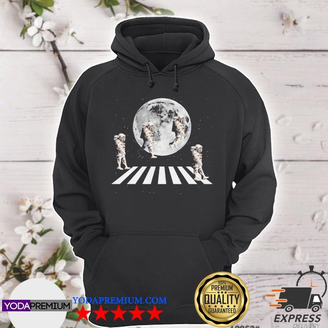 Astronaut abbey road and Moon s hoodie