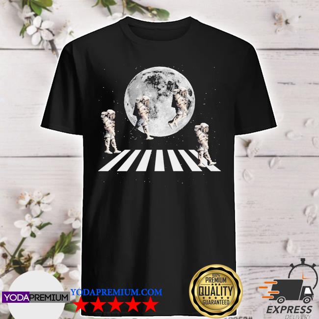 Astronaut abbey road and Moon shirt