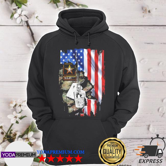 Blood Inside me U.S.Army American flag s hoodie