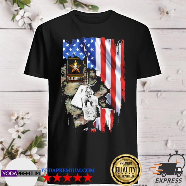 Blood Inside me U.S.Army American flag shirt