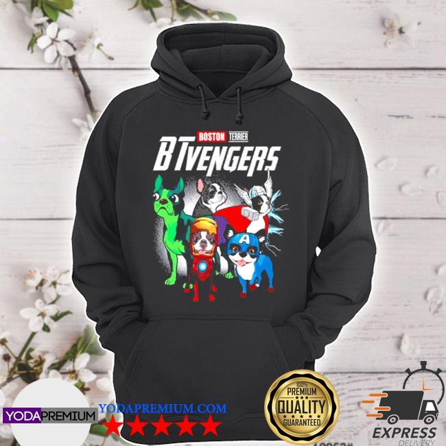 Boston terrier btvengers 2021 s hoodie