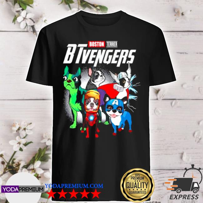 Boston terrier btvengers 2021 shirt