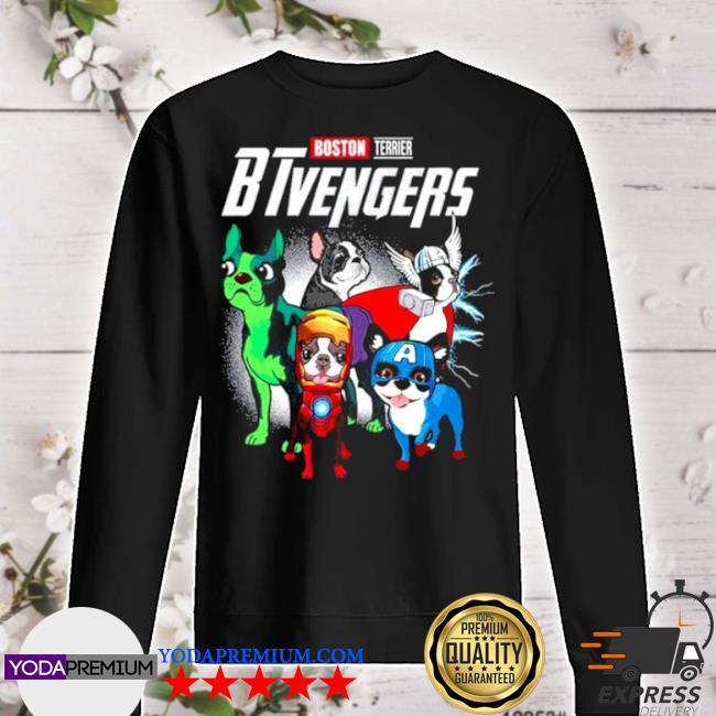 Boston terrier btvengers 2021 s sweater