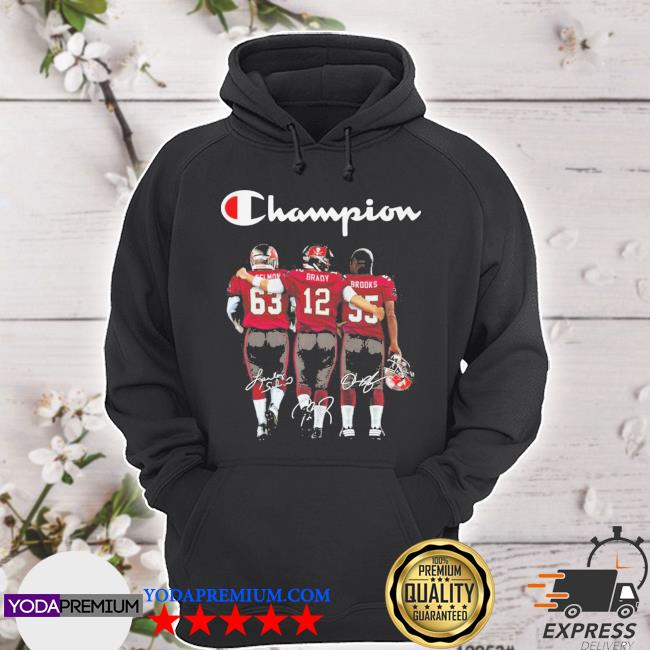 Cei Mom and Brady and Brooks Champions signatures s hoodie