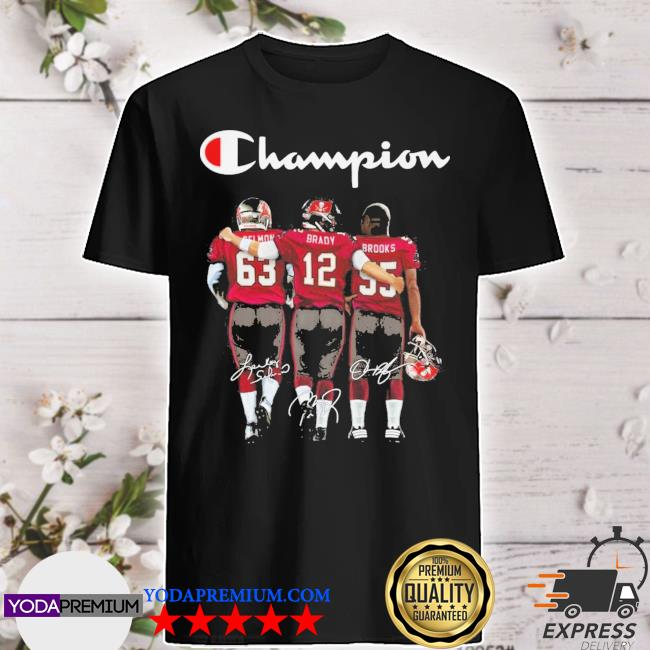 Cei Mom and Brady and Brooks Champions signatures shirt