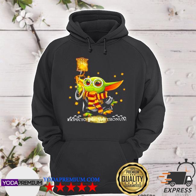 Expecto baby Yoda tronum s hoodie