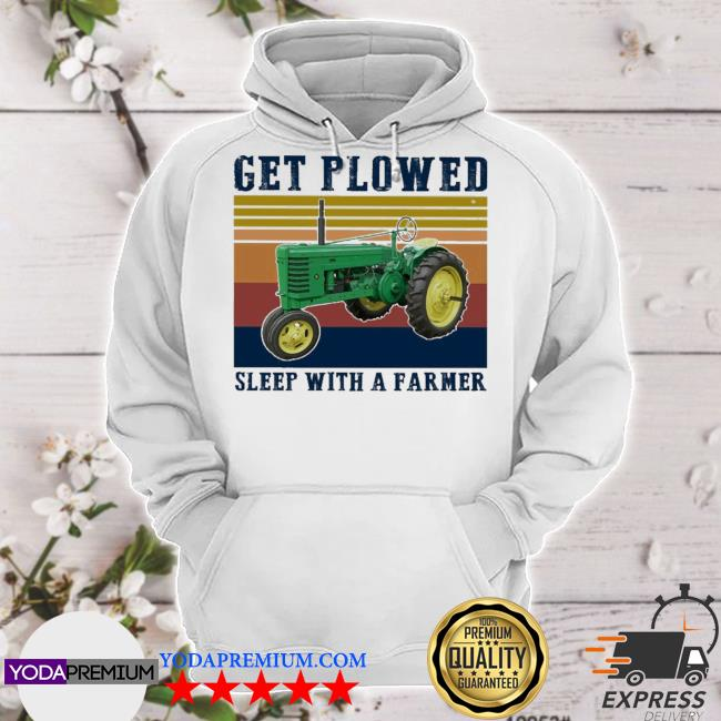 Get plowed sleep with a Farmer vintage s hoodie