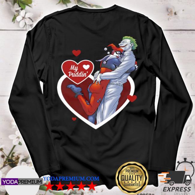 Harley quinn and the joker my puddin' DC comics s longsleeve