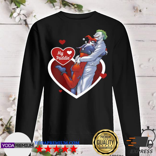Harley quinn and the joker my puddin' DC comics s sweater