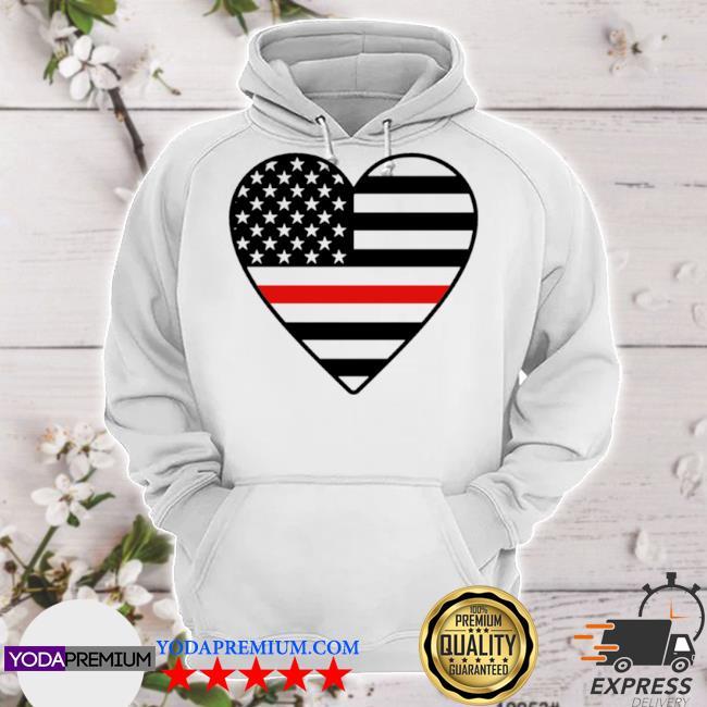 Heart American flag s hoodie