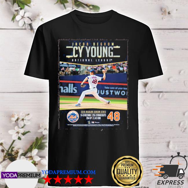 Jacob degrom Cy Young national league 2021 shirt