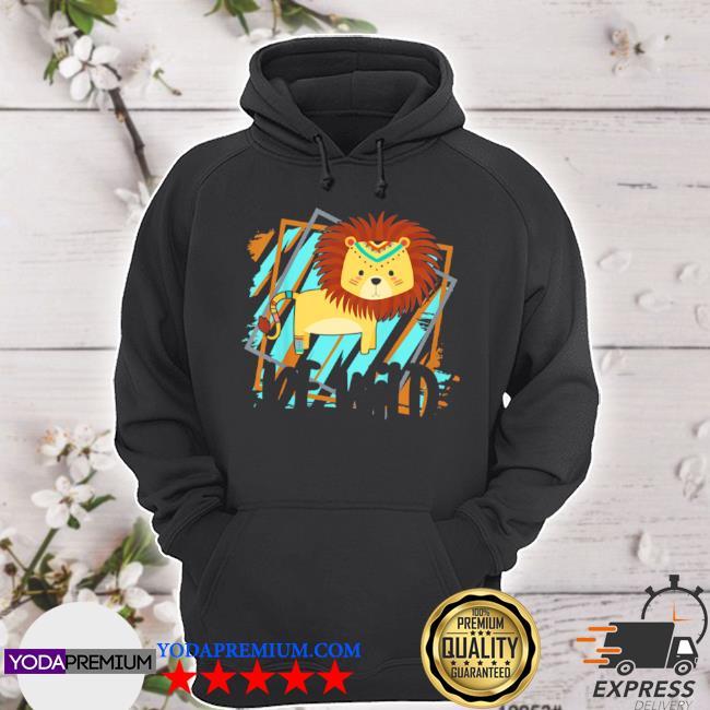 Kids be wild gypsy hippie lion girls toddler s hoodie