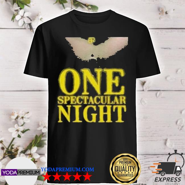 Official ajr one spectacular night shirt