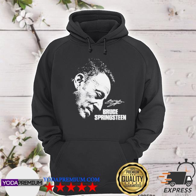 Official bruce springsteen signature s hoodie