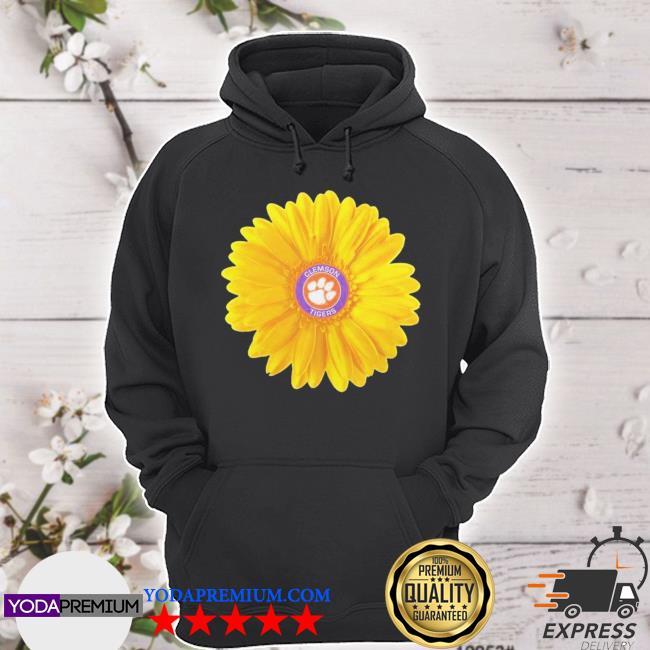 Official clemson tigers football sunflower s hoodie