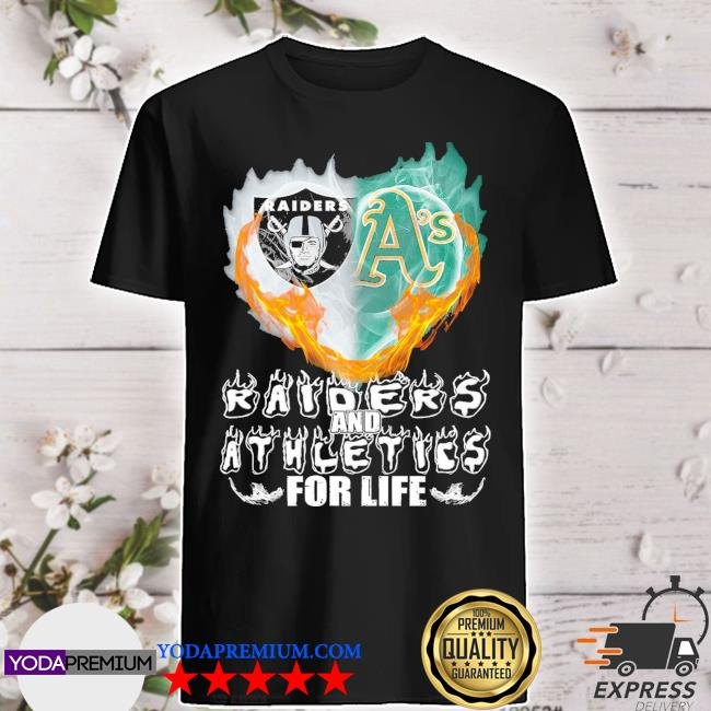 Official heart raiders and athletics for life 2021 shirt