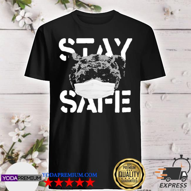 Official stay safe 6lack merch shirt