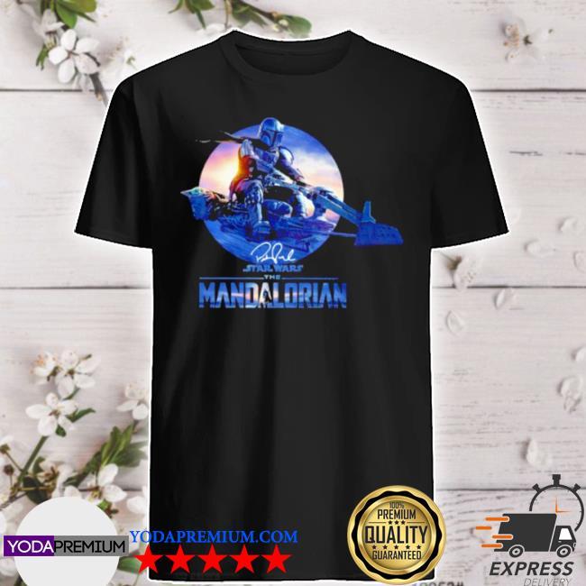 Star wars the mandalorian signature shirt