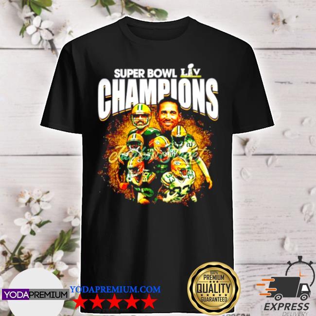 Super bowl liv champions green bay packers shirt