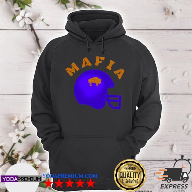 The Buffalo Bills mafia helmet 2021 s hoodie