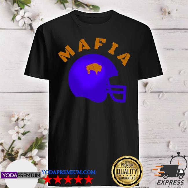 The Buffalo Bills mafia helmet 2021 shirt