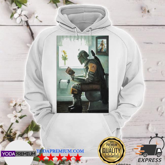 The Mandalorian toilet and read book Harry Potter 2021 s hoodie