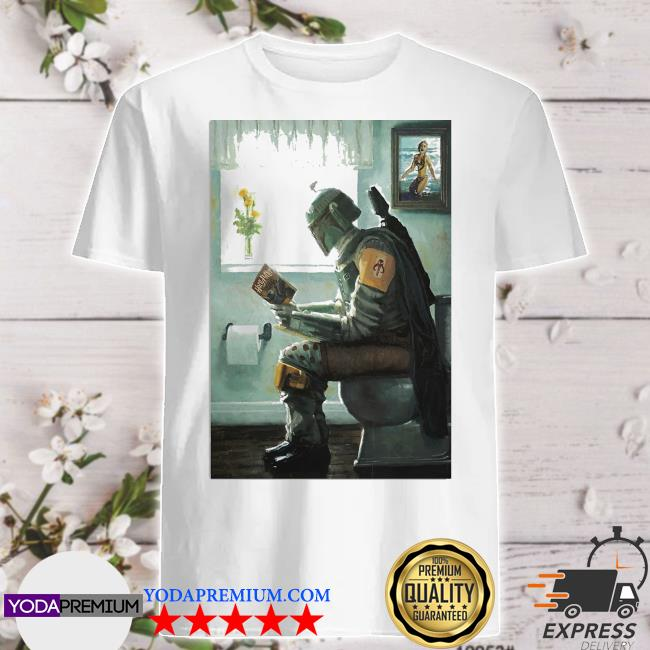 The Mandalorian toilet and read book Harry Potter 2021 shirt