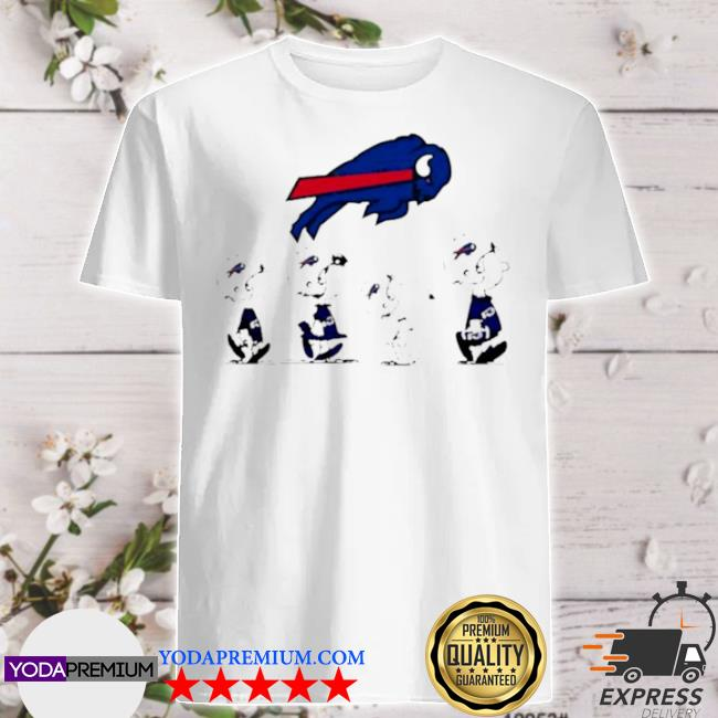 The Peanuts Snoopy and friends Buffalo Bills 2021 shirt