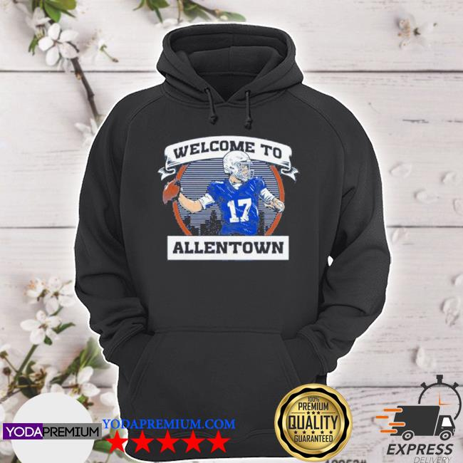 Welcome to be allentown s hoodie